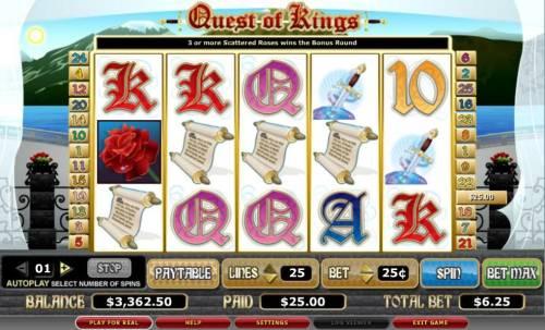 Quest of Kings Big Bonus Slots