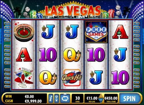 Quick Hit Las Vegas review on Big Bonus Slots