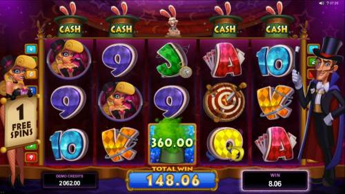 Rabbit in the Hat review on Big Bonus Slots