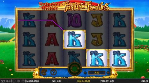 Rainbow Riches Fortune Favours review on Big Bonus Slots