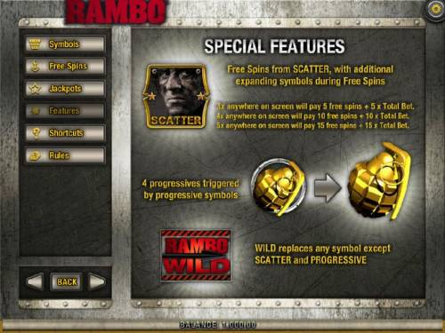 Rambo review on Big Bonus Slots