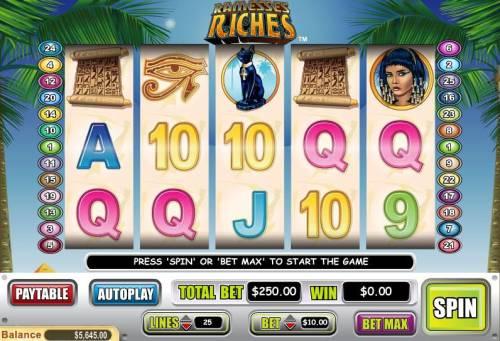 Ramesses Riches review on Big Bonus Slots
