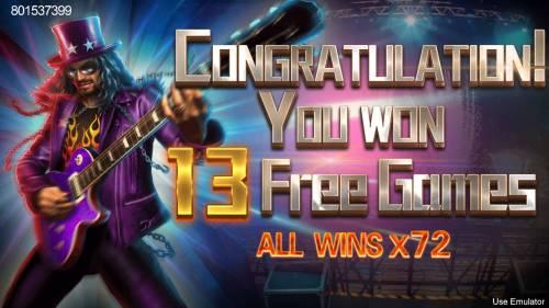 Rave High Big Bonus Slots 13 Free Games Awarded