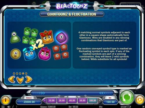 Reactoonz review on Big Bonus Slots