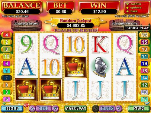 Realm of Riches Big Bonus Slots
