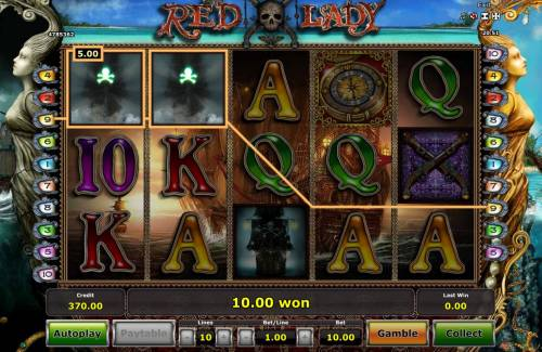 Red Lady Big Bonus Slots Two of a Kind