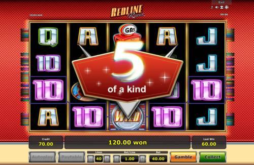 Redline Racer review on Big Bonus Slots
