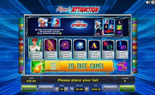 Reel Attraction review on Big Bonus Slots