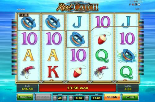 Reel Catch review on Big Bonus Slots