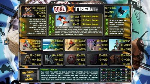 Reel Xtreme review on Big Bonus Slots