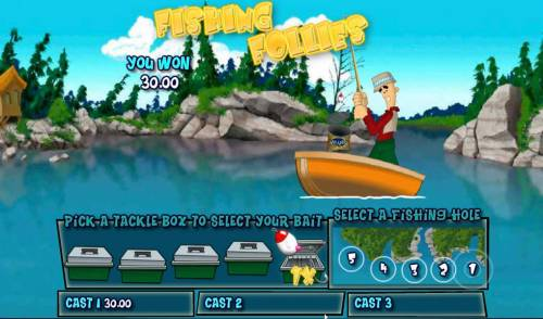 Reel in the Cash 20 line review on Big Bonus Slots