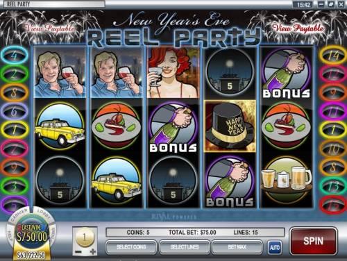 Reel Party review on Big Bonus Slots
