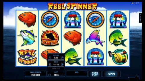 Reel Spinner review on Big Bonus Slots