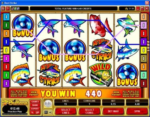 Reel Strike review on Big Bonus Slots