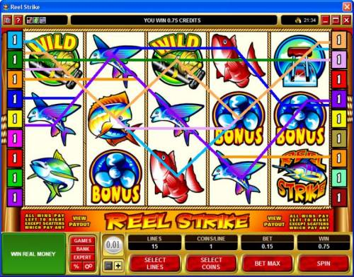 Reel Strike review on Big Bonus Slots