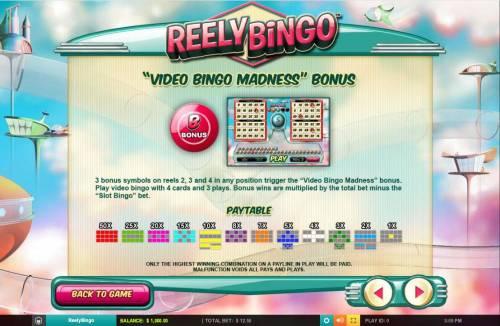 Reely Bingo review on Big Bonus Slots
