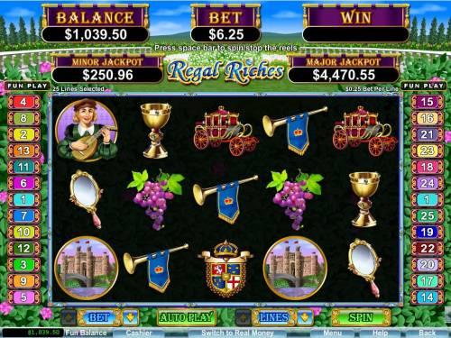Regal Riches review on Big Bonus Slots