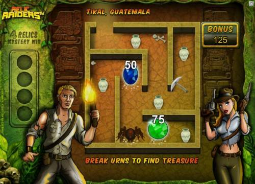 Relic Raiders review on Big Bonus Slots