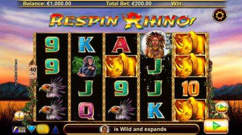 Respin Rhino review on Big Bonus Slots