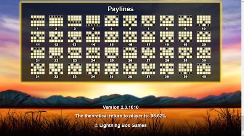 Respin Rhino Big Bonus Slots Paylines 1-40