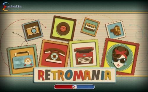 Retromania review on Big Bonus Slots