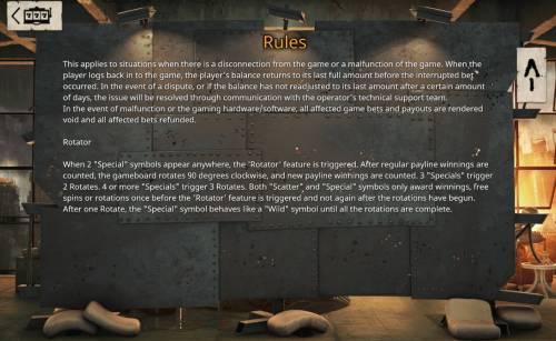 Revolution Big Bonus Slots Rotator Rules