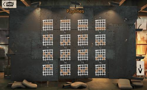 Revolution Big Bonus Slots Paylines 1-16