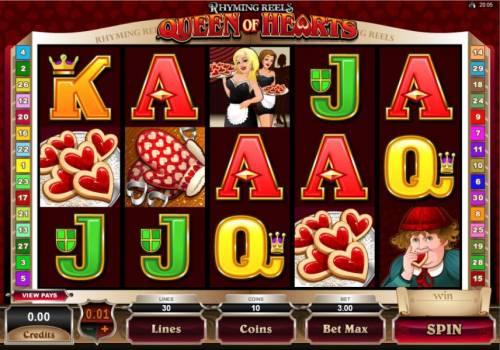 Rhyming Reels - Queen Of Hearts review on Big Bonus Slots