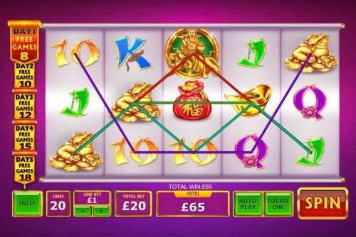 Ri Ri Jin Cai Big Bonus Slots Multiple winning paylines