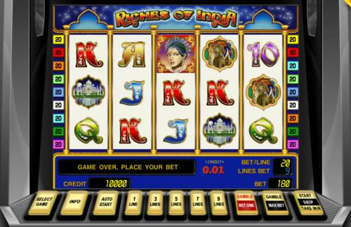 Riches of India review on Big Bonus Slots