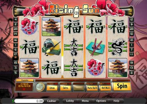 Rising Sun review on Big Bonus Slots