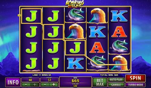 Roaring Wilds review on Big Bonus Slots