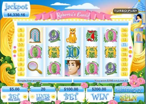 Roberta's Castle review on Big Bonus Slots