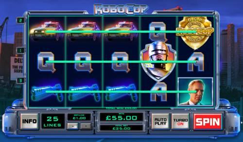 RoboCop Big Bonus Slots Multiple winning paylines