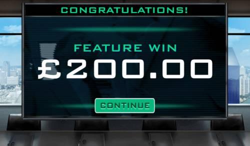 RoboCop Big Bonus Slots Total bonus payout 200 credits
