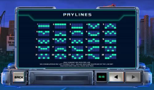 RoboCop Big Bonus Slots Paylines 1-25