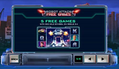 RoboCop Big Bonus Slots Robot Attack Free Games