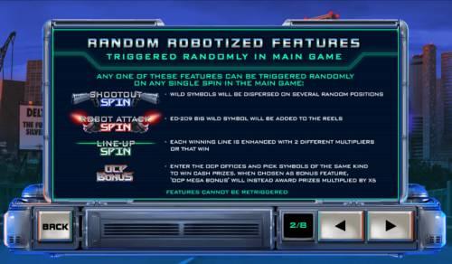 RoboCop Big Bonus Slots Ramdon Robotized Features