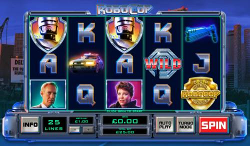 RoboCop review on Big Bonus Slots