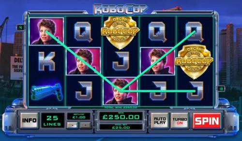 RoboCop Big Bonus Slots A pair of winning paylines