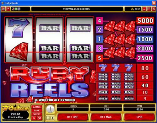 Ruby Reels review on Big Bonus Slots