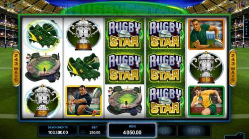 Rugby Star review on Big Bonus Slots