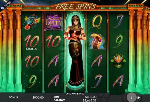 Sahara Queen review on Big Bonus Slots