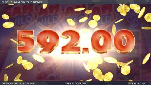 Sam on the Beach review on Big Bonus Slots