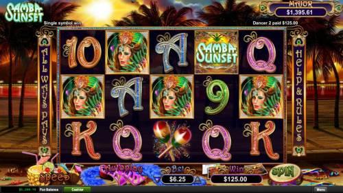 Samba Sunset review on Big Bonus Slots