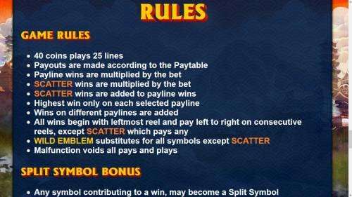 Samurai Split review on Big Bonus Slots