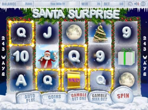 Santa Surprise Big Bonus Slots A winning four of a kind