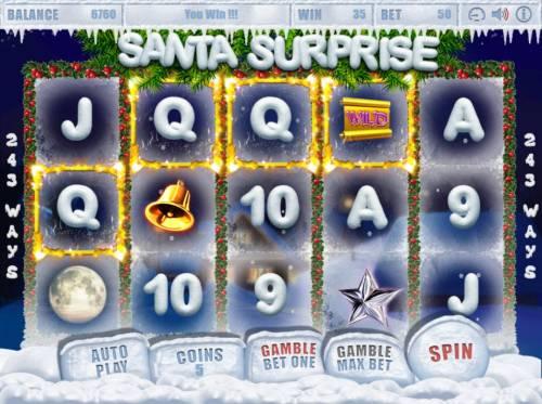 Santa Surprise Big Bonus Slots Four of a kind