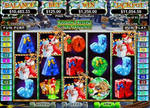 Santa Strikes Back Big Bonus Slots