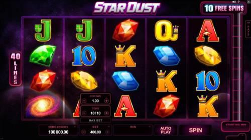 Star Dust review on Big Bonus Slots